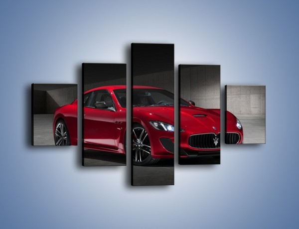 Obraz na płótnie – Maserati GranTurismo Centennial Edition – pięcioczęściowy TM240W1