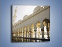 Obraz na płótnie – Bliskowschodnia architektura – jednoczęściowy kwadratowy AM177