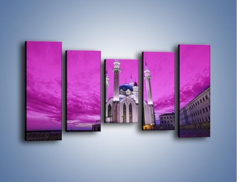 Obraz na płótnie – Meczet Kul Szarif – pięcioczęściowy AM642W2