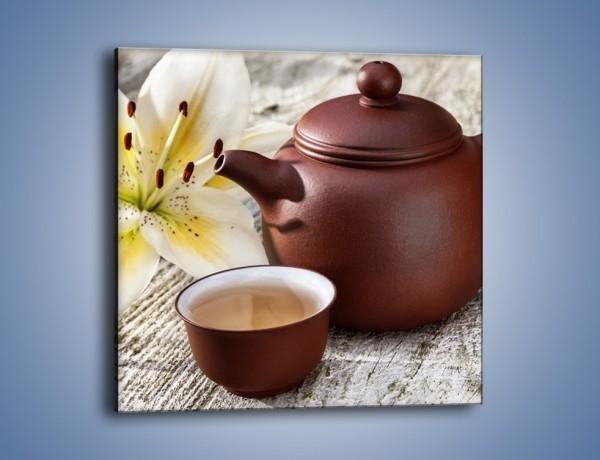 Obraz na płótnie – Waniliowa kawa – jednoczęściowy kwadratowy JN678