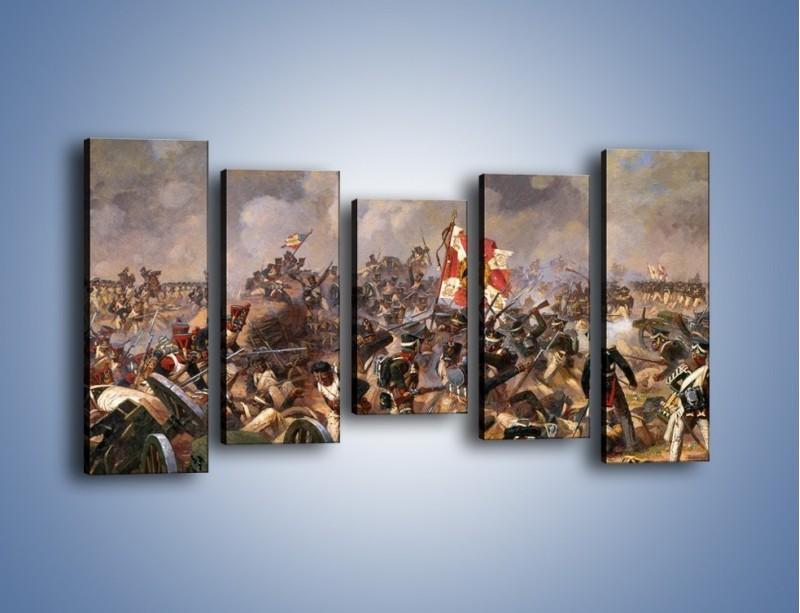 Obraz na płótnie – Wojna i jej skutki – pięcioczęściowy GR133W2