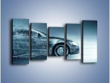 Obraz na płótnie – Auto z prędkością światła – pięcioczęściowy GR264W2
