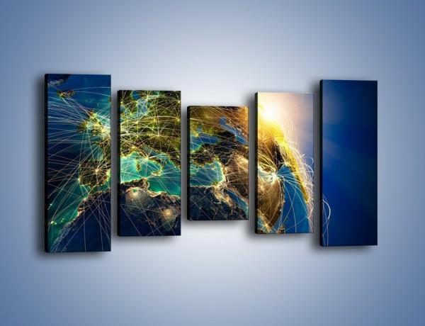 Obraz na płótnie – Światełko na świat – pięcioczęściowy GR533W2