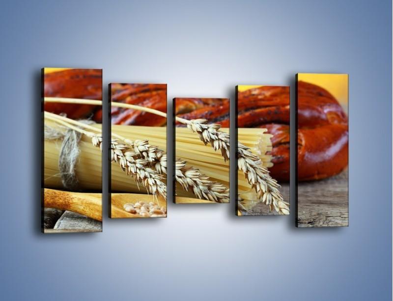 Obraz na płótnie – Chleb pszenno-kukurydziany – pięcioczęściowy JN090W2