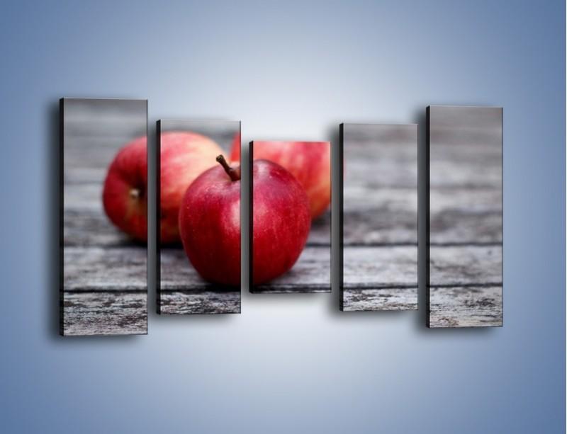Obraz na płótnie – Jabłkowe zdrowie – pięcioczęściowy JN296W2