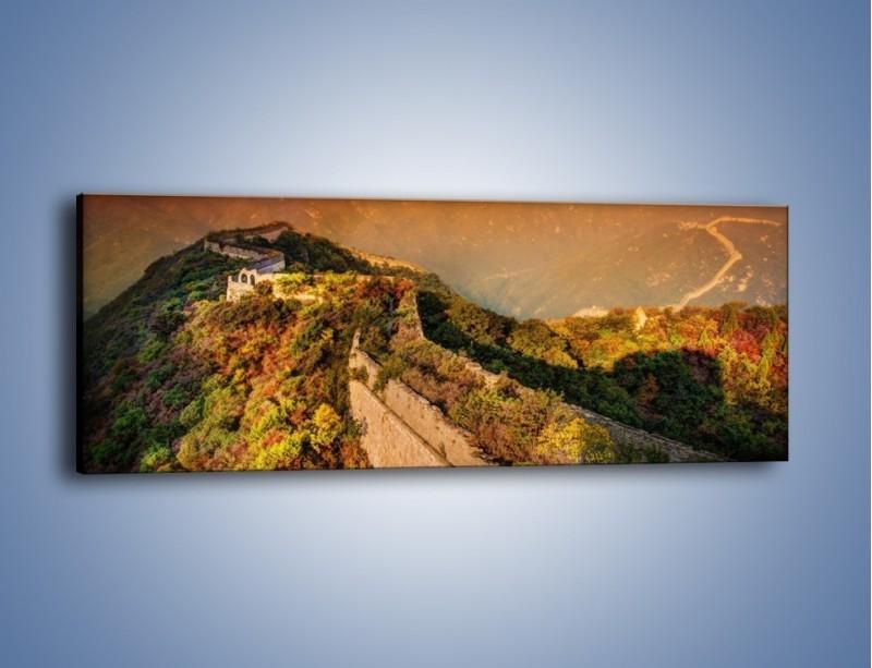 Obraz na płótnie – Zarośnięty krety most – jednoczęściowy panoramiczny KN1020