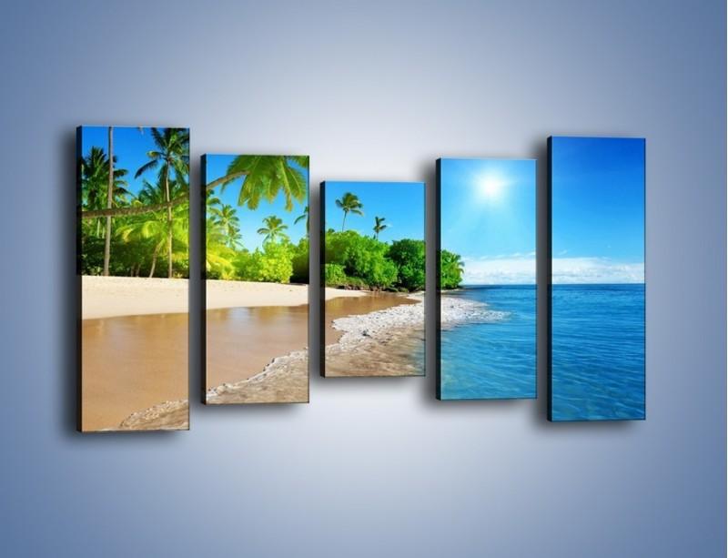 Obraz na płótnie – Bajeczne wakacyjne wspomnienia – pięcioczęściowy KN1110AW2