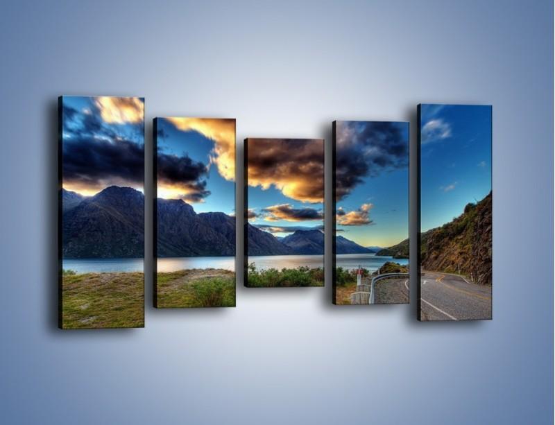 Obraz na płótnie – Droga w jedną stronę – pięcioczęściowy KN752W2