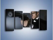 Obraz na płótnie – Bond. james bond – pięcioczęściowy L239W2