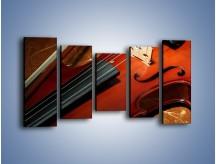 Obraz na płótnie – Instrument i muzyka poważna – pięcioczęściowy O025W2