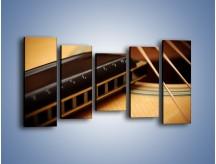 Obraz na płótnie – Instrumenty z drewna – pięcioczęściowy O108W2