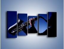 Obraz na płótnie – Koncert na saksofonie – pięcioczęściowy O110W2