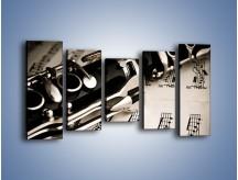 Obraz na płótnie – Egzamin z muzyki – pięcioczęściowy O216W2