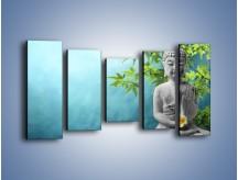 Obraz na płótnie – Idealny świat harmonii i spokoju – pięcioczęściowy O258W2