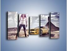 Obraz na płótnie – Chevrolet Camaro – pięcioczęściowy TM079W2