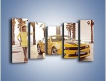 Obraz na płótnie – Chevrolet Camaro Coupe Europe – pięcioczęściowy TM083W2