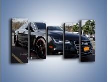 Obraz na płótnie – Audi A7 D2forged Wheels – pięcioczęściowy TM099W2