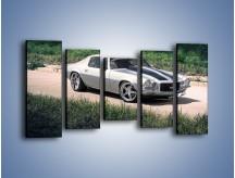 Obraz na płótnie – Chevrolet Camaro 1989 – pięcioczęściowy TM105W2