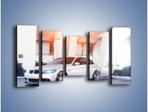 Obraz na płótnie – BMW 3 E90 – pięcioczęściowy TM112W2
