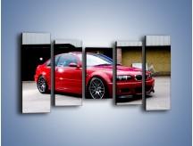 Obraz na płótnie – BMW M3 E46 Coupe – pięcioczęściowy TM125W2