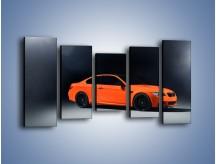 Obraz na płótnie – BMW M3 E92 Coupe Orange – pięcioczęściowy TM168W2