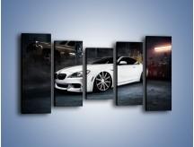 Obraz na płótnie – BMW M6 F13 Vossen Wheels – pięcioczęściowy TM169W2