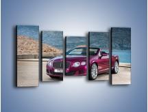 Obraz na płótnie – Bentley Continental Speed GT – pięcioczęściowy TM187W2