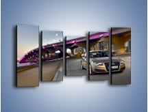 Obraz na płótnie – Audi A8 – pięcioczęściowy TM188W2