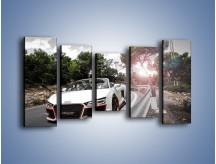 Obraz na płótnie – Audi R8 V10 Spyder – pięcioczęściowy TM209W2