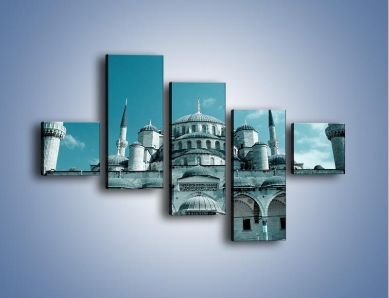 Obraz na płótnie – Taj Mahal – pięcioczęściowy AM175W3