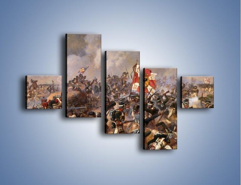 Obraz na płótnie – Wojna i jej skutki – pięcioczęściowy GR133W3
