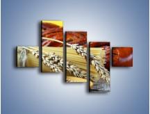 Obraz na płótnie – Chleb pszenno-kukurydziany – pięcioczęściowy JN090W3