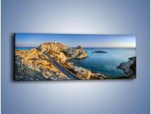 Obraz na płótnie – Droga z cudownym widokiem – jednoczęściowy panoramiczny KN1110