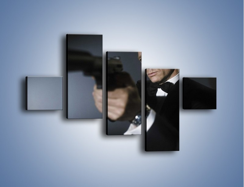 Obraz na płótnie – Bond. james bond – pięcioczęściowy L239W3