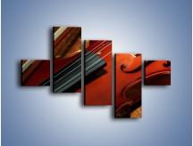 Obraz na płótnie – Instrument i muzyka poważna – pięcioczęściowy O025W3