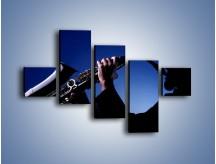 Obraz na płótnie – Koncert na saksofonie – pięcioczęściowy O110W3