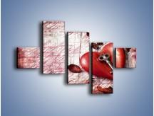 Obraz na płótnie – Klucz do serca – pięcioczęściowy O246W3