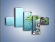 Obraz na płótnie – Idealny świat harmonii i spokoju – pięcioczęściowy O258W3