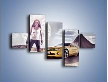 Obraz na płótnie – Chevrolet Camaro – pięcioczęściowy TM079W3