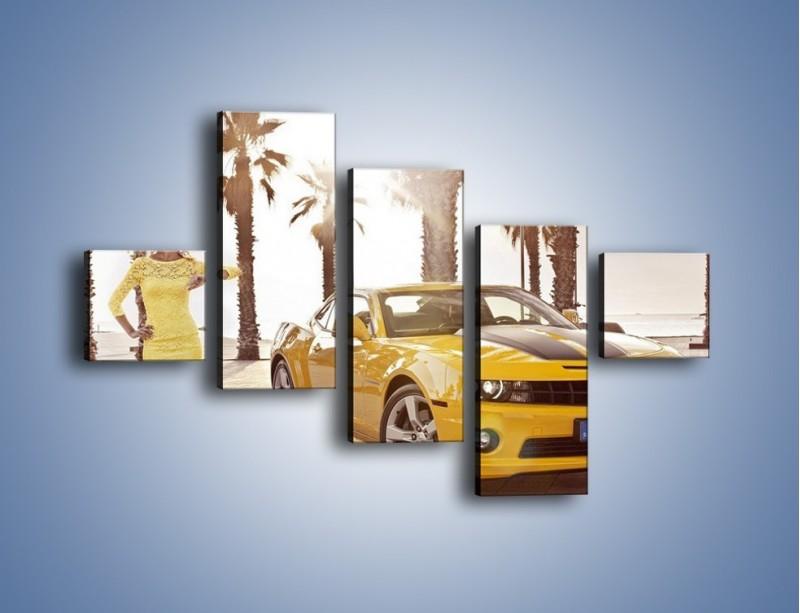 Obraz na płótnie – Chevrolet Camaro Coupe Europe – pięcioczęściowy TM083W3