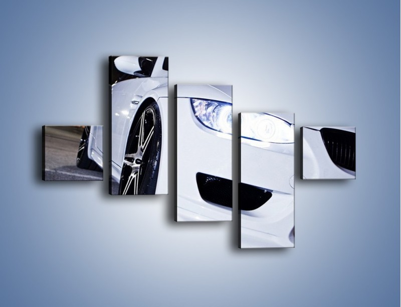 Obraz na płótnie – BMW E92 M3 Coupe – pięcioczęściowy TM089W3