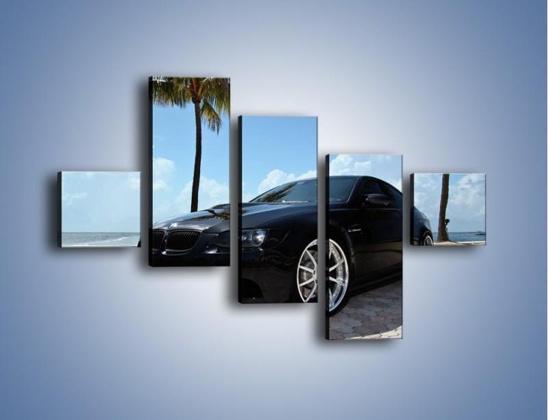 Obraz na płótnie – BMW M3 GTS – pięcioczęściowy TM095W3