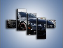 Obraz na płótnie – Audi A7 D2forged Wheels – pięcioczęściowy TM099W3