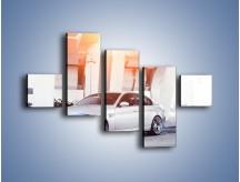 Obraz na płótnie – BMW 3 E90 – pięcioczęściowy TM112W3