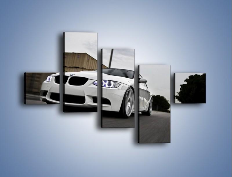 Obraz na płótnie – BMW M3 E92 Tuning – pięcioczęściowy TM122W3