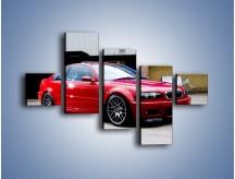 Obraz na płótnie – BMW M3 E46 Coupe – pięcioczęściowy TM125W3