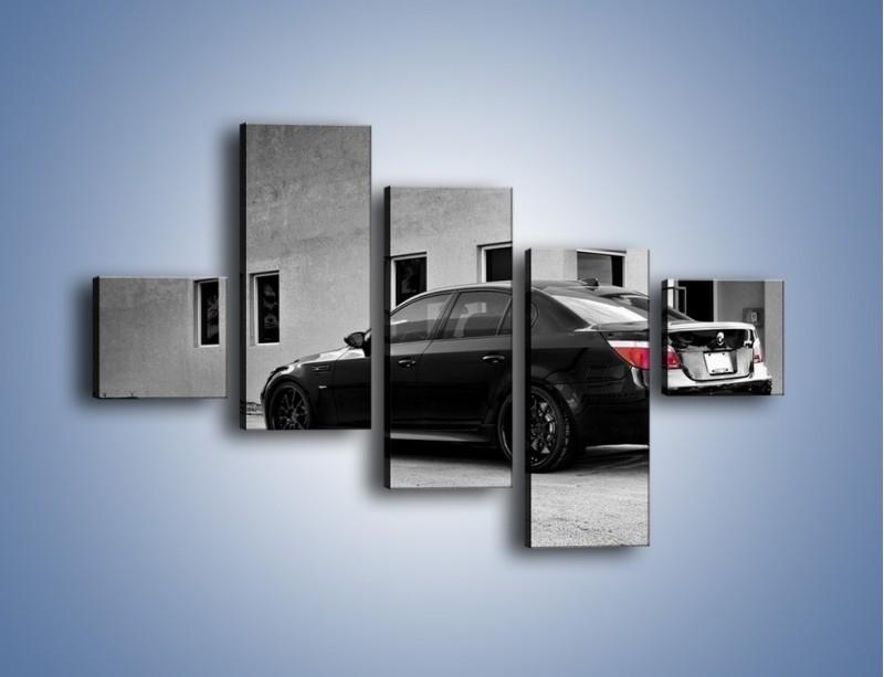 Obraz na płótnie – BMW M5 E77 – pięcioczęściowy TM135W3