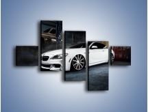 Obraz na płótnie – BMW M6 F13 Vossen Wheels – pięcioczęściowy TM169W3