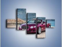 Obraz na płótnie – Bentley Continental Speed GT – pięcioczęściowy TM187W3