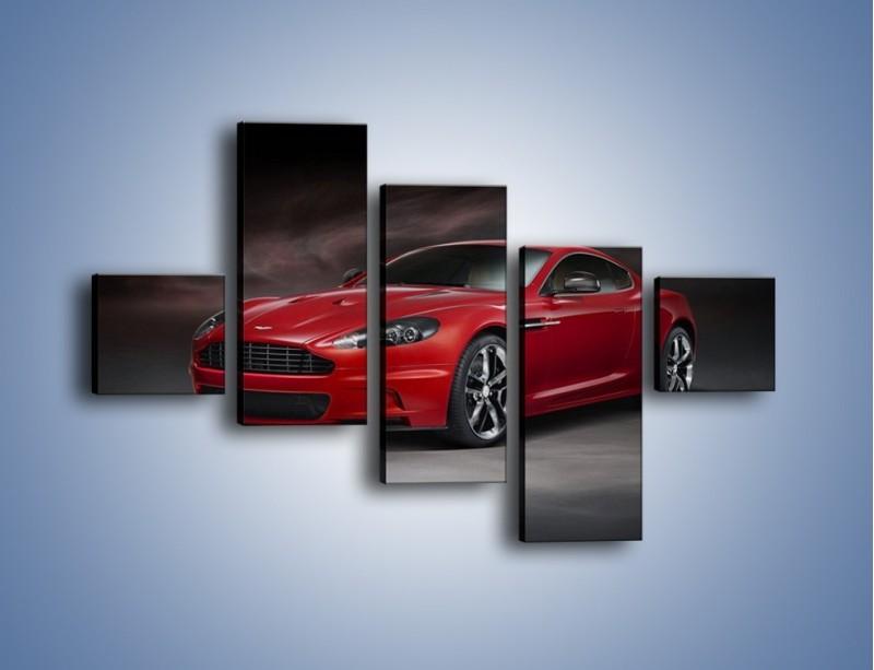 Obraz na płótnie – Aston Martin DBS Carbon Edition – pięcioczęściowy TM242W3
